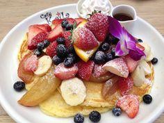 #pancake #japan #fruits 表参道 ハワイ カフェ カイラ