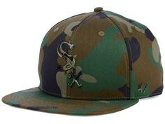 2575e336069ccb Chicago White Sox '47 MLB Camo Snapback Cap White Sox Logo, Flat Bill Hats