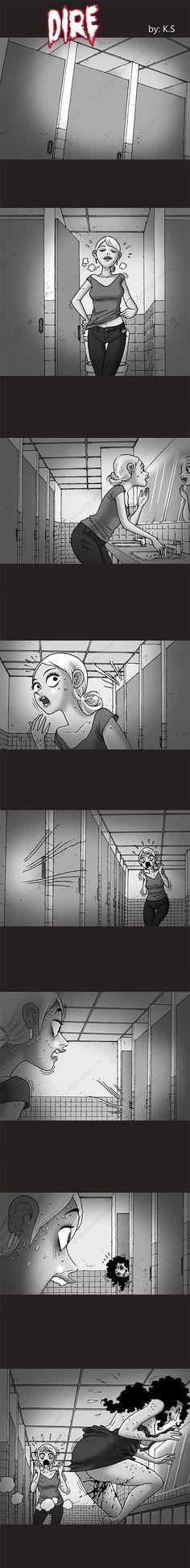 Silent Horror chap 235: Người phụ nữ trong phòng vệ sinh