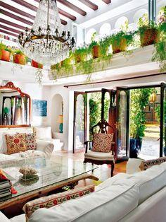 Jardim fantástico em casa de Ibiza