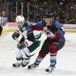 DENVER, CO - OCTOBER 8: of the Colorado Avalanche skates against the Minnesota Wild at the Pepsi Center on October 8, 2015 in Denver, Colorado.  (Photo by Michael Martin/NHLI via Getty Images)