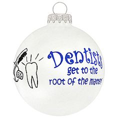 """Dentists get to the root of the matter! Dentyści docierają do """"korzenia"""" sprawy ;)"""
