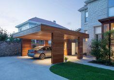 Garage & shed by studiowta - Carports - Carport Designs, Garage Design, Roof Design, Pergola Designs, House Design, Pergola Ideas, Design Room, Pergola Plans, Carport Sheds