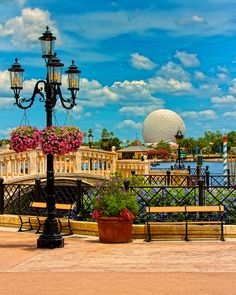 "As the original pinner said: ""Epcot, Italy In World Showcase. If It's Not Closed Off For A Private Party, The Bridge Is An Excellent Spot To Watch Illuminations From."""