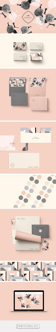 Laura Sawyer Brand Identity by Cocorrina branding design Corporate Design, Brand Identity Design, Graphic Design Branding, Packaging Design, Corporate Identity, Visual Identity, Brand Design, Site Web Design, Graphisches Design