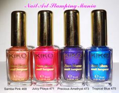 Nail Art Stamping Mania: Kiko SUN SHOW Nail Lacquer Review and Swatches  http://nailartstampingmania.blogspot.it/2014/04/kiko-sun-show-nail-lacquer-review-and.html