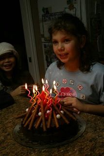 Campfire birthday cake. Jeremy would love this!
