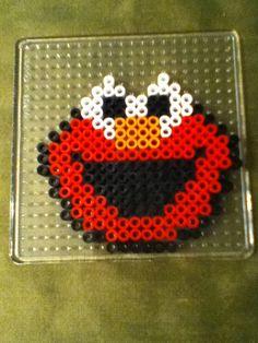 Perler bead Elmo by Anna