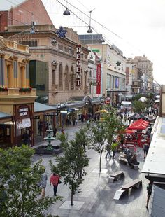 Rundle Mall Redevelopment by HASSELL «  Landscape Architecture Works | Landezine