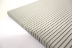 3D Leather Wall Panel in a Fluted Rib Design by BMS Individual