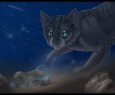 "SPOILERS -->                                   ""Cinderpelt getting a second chance, as Cinderheart."":)^_^"