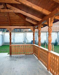 adelaparvu.com despre foisoare lemn, foisor dreptunghiular, firma Rustic Design, Romania (3)