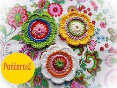 Sweet Crochet Motif!  *******************************  SIZE: (+- ) 5.0cm  You…