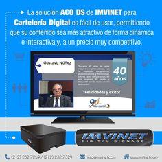 Si quieres mantener informado a tus empleados utiliza Carteleria Digital para hacerlo eficientemente www.imvinet.com