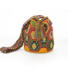 Wayuu Bag Mochila  Handmade  Tribal Ethnic  by ColombianMadeShop