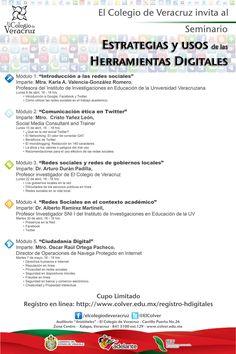 Estrategias y usos de las herramientas digitales en@elcolver #seminarioeuhd