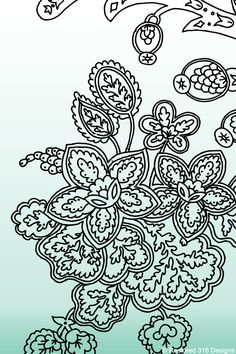 Flower drawings.