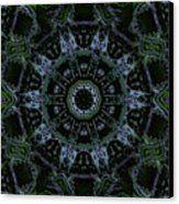 Green Mandala Canvas Print by Jodi DiLiberto