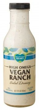 High Omega Vegan Ranch  -- OH to be able to have ranch dressing again!!  =)