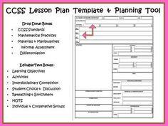 3rd-Lesson-Plan-Templates-OPSB-CCSS-COMPASS-Danielson-Math-Reading ...