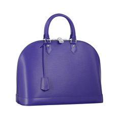 Louis Vuitton Alma bag in figue. ADORE!