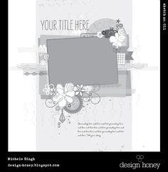 Adesigngirl's Gallery: design honey sketch no. 011