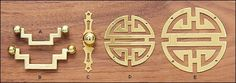 Tansu Brass Box Hardware - Hardware