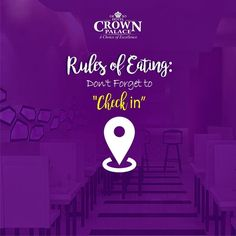 #Rule:  Don't Forget to check in Hotel Crown Palace - http://ift.tt/1HQJd81