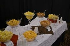 popcorn bar wedding ideas