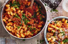 Spicy sausage ragu with spirali A great family favourite, this easy pasta recipe uses pork sausages to make a quick, spicy tomato ragu. Find more easy pasta recipes on Tesco Real Food. Spicy Sausage, Sausage Recipes, Sausage Pasta, Cheese Recipes, Sausage Casserole, Lamb Recipes, Side Recipes, Healthy Pasta Recipes, Essen