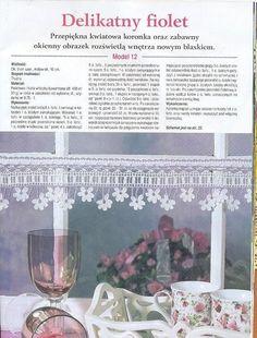 Gallery.ru / Фото #77 - Zanaveski - Labadee crochet bord, crochet lace, crochet edg