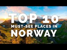 Top 10 places in Norway according to time lapse photographer