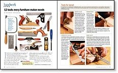 12 Tools Every Furniture Maker Needs