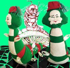 Absolum Baby Safe, Softies, Alice In Wonderland, Handmade, Animals, Fictional Characters, Art, Hand Made, Animales