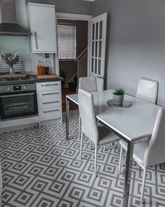Our New Orleans Estelle Vinyl is a great option when it comes to choosing your kitchen flooring 🙌 Aside from its eye-catching design, this Vinyl is highly durable, easy to maintain and slip resistant! ✨ 📷 mamatozacandellie 🛒 Order your Free Samples today! #Vinyl #VinylFlooring #Kitchen #KitchenFlooring #Flooring #Interiors #interiordesign #interiordecorating #kitcheninteriors #kitchendesign #interior4inspo #homeinterior #homedecor #homestyle #homestyling Vinyl Flooring, Kitchen Flooring, Kitchen Interior, Kitchen Design, Interior Decorating, Interior Design, White Tiles, Free Samples, Grey And White
