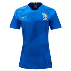 804f1afbbc8 Brazil 2018 World Cup Away Women Soccer Jersey Personalized Name and Number