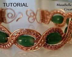 TUTORIAL - Braided Wire Weave Bracelet