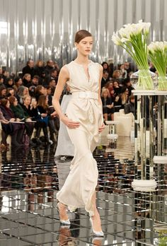 Lily-Rose Depp just cemented her It-model status by closing the Chanel Haute Couture show in Paris. See her Chanel bridal look here.