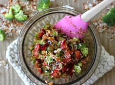 Strawberry Broccoli Salad Recipe