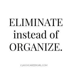 YES! so important! if you want a clean house you can't keep everything!! Minimalist Lifestyle, Minimalist Blogs, Minimalist Quotes, Minimalist Living Tips, Becoming Minimalist, Minimal Living, Simple Living, Life Organization, Organisation