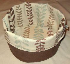 * Mitt lille hjørne * My Little Corner *: Brødkurv ~ Bread Basket - Tutorial