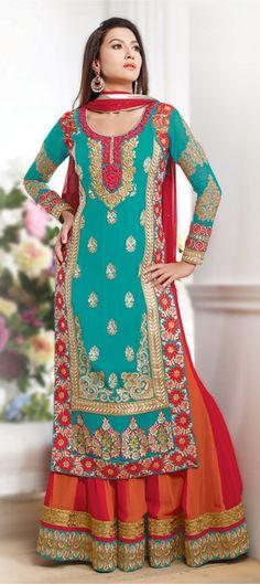 413409: #Anarkali modeled by the beautiful #GauaharKhan. Like it? Buy it here!   #Bollywood