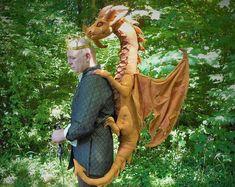 PDF PATTERN Dragon plush magic the gathering shoulder dragon Printer Paper, Computer Paper, Smaug Dragon, Celtic Dragon, Dragon Mask, Giant Beds, Dragons, Dragon Pattern, Plush Pattern