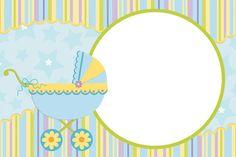 Convites chá de bebê para editar e imprimir - Cantinho do blog