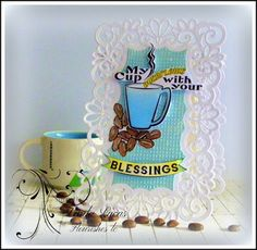Lovely Linda's Craft Central!!: Flourishes LC November New Release Blog Hop - Day 5 My Cup Overflows
