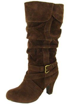 Brown Slouchy Boot