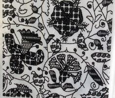 Embroidered Elizabethan Blackwork by bonnie_phantasm