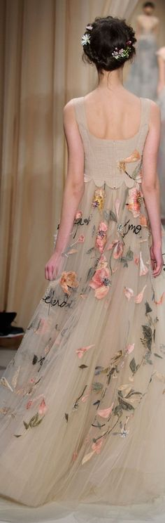 ~ fairytale gown ~ (Valentino spring 2015)