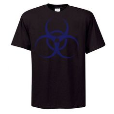 Blue Biohazard T-Shirt