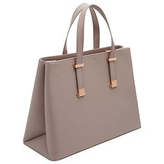 c79eb2dbafe7c Ted Baker Alissaa Crosshatch Leather Tote Bag